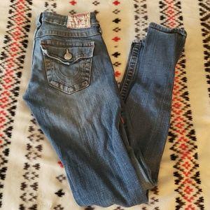 True Religion Jodi skinny jeans
